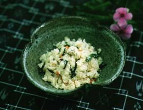 ウカライリチー (おからの炒め煮)の写真
