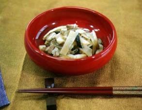 かんぴょうイリチィー (かんぴょうの炒め煮)の写真